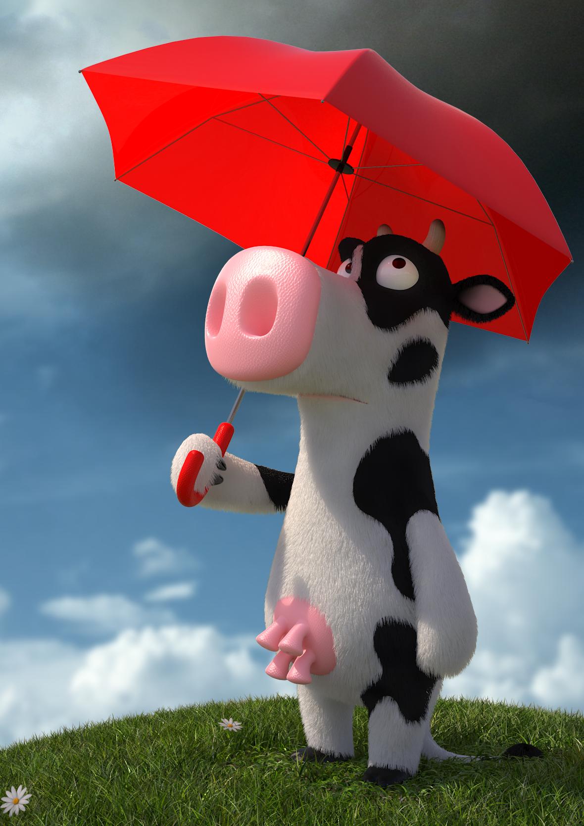 3D_vache